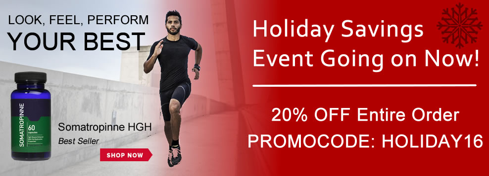 Holiday Savings Event Going on Now! 20% off entire order. Promocode: Holiday16