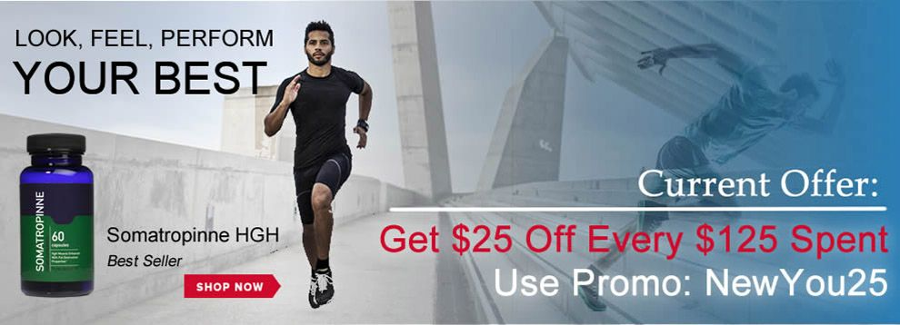 Get $25 Off Every $125 Spent. Use Promo: NewYou25