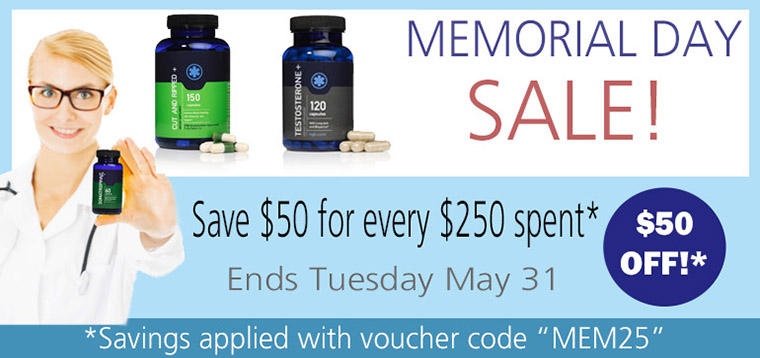 Human Growth Hormone (HGH), Bodybuilding, & Fitness Supplements Spring Sale