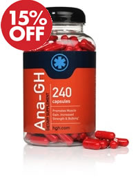 ANA-GH Pills - Gain muscle, strength, and increase appetite